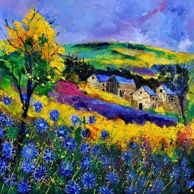 Ardennes 883101-Pol Ledent-Stretched Canvas Print