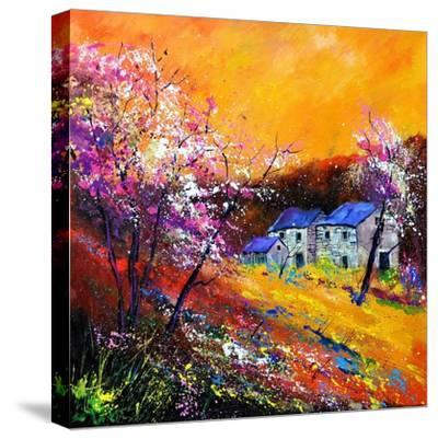 Spring 883101-Pol Ledent-Stretched Canvas Print