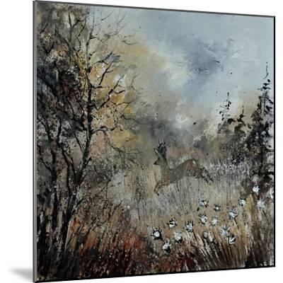 Roe Deer-Pol Ledent-Mounted Art Print