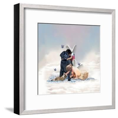 The Heaven Of Animals-Nancy Tillman-Framed Art Print