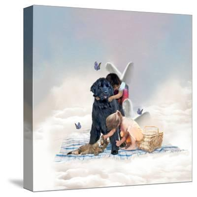 The Heaven Of Animals-Nancy Tillman-Stretched Canvas Print