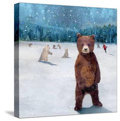 If You Were A Bear-Nancy Tillman-Stretched Canvas Print