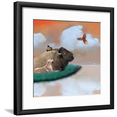 Marmalade Sky-Nancy Tillman-Framed Art Print