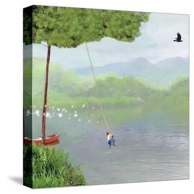 Tree Swing-Nancy Tillman-Stretched Canvas Print