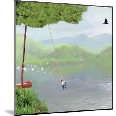 Tree Swing-Nancy Tillman-Mounted Art Print