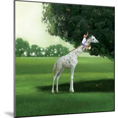 Applepicking-Nancy Tillman-Mounted Art Print