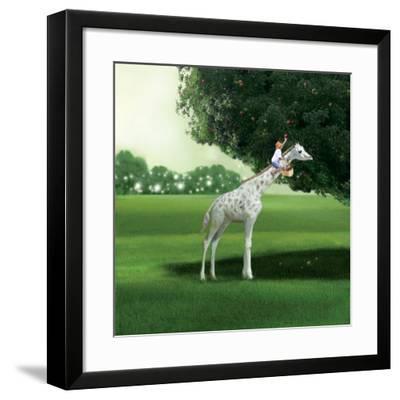 Applepicking-Nancy Tillman-Framed Art Print