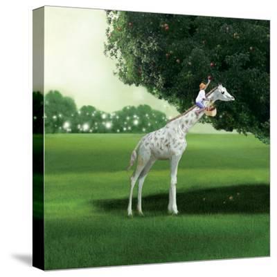 Applepicking-Nancy Tillman-Stretched Canvas Print