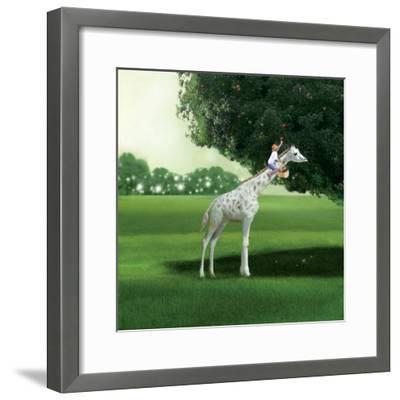 Applepicking-Nancy Tillman-Framed Premium Giclee Print