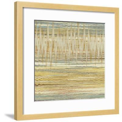 Line Break II-Ricki Mountain-Framed Art Print