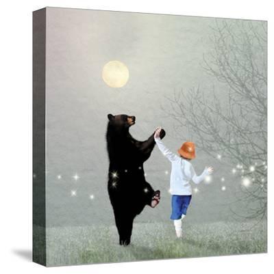 Moonlight Dance-Nancy Tillman-Stretched Canvas Print