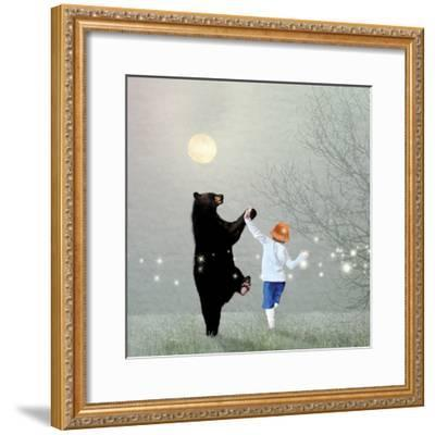Moonlight Dance-Nancy Tillman-Framed Premium Giclee Print