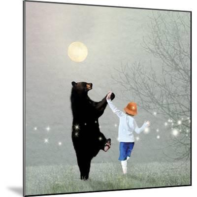 Moonlight Dance-Nancy Tillman-Mounted Premium Giclee Print