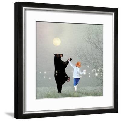 Moonlight Dance-Nancy Tillman-Framed Premium Giclee Print