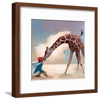 If You Were A Giraffe-Nancy Tillman-Framed Art Print