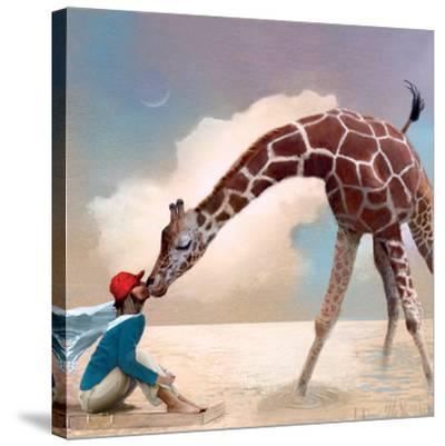If You Were A Giraffe-Nancy Tillman-Stretched Canvas Print