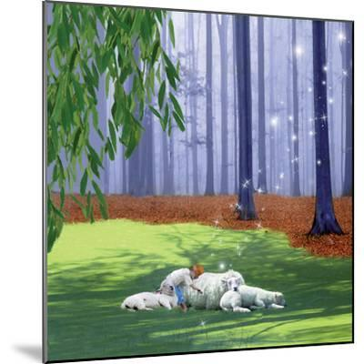 Asleep With Sheep-Nancy Tillman-Mounted Art Print