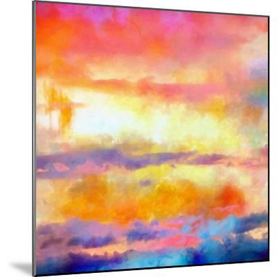 What a Color Art Series Abstract-Ricki Mountain-Mounted Art Print