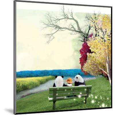 Sitting With Pandas-Nancy Tillman-Mounted Art Print