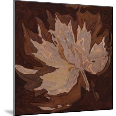 Maple Leaf 2-Rabi Khan-Mounted Art Print