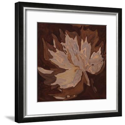 Maple Leaf 2-Rabi Khan-Framed Art Print