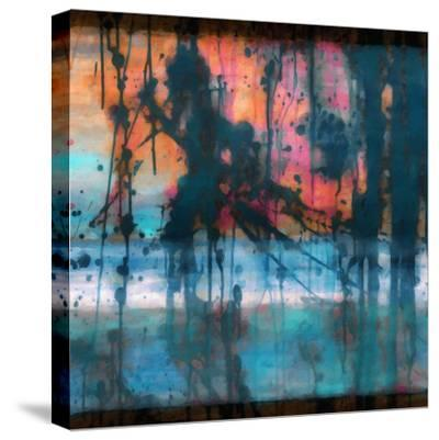 What a Color Art Series Abstract 9-Ricki Mountain-Stretched Canvas Print