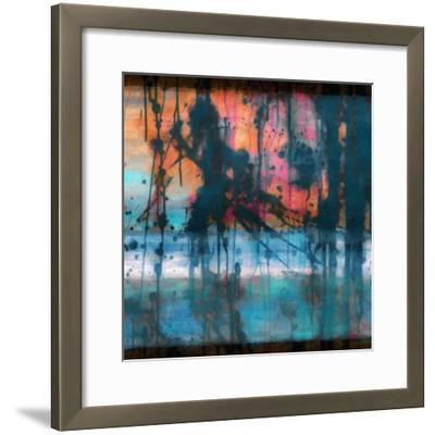 What a Color Art Series Abstract 9-Ricki Mountain-Framed Art Print