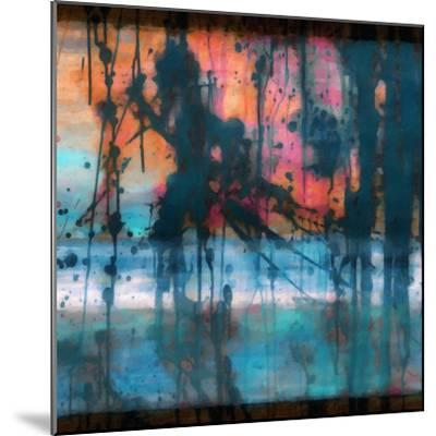 What a Color Art Series Abstract 9-Ricki Mountain-Mounted Art Print