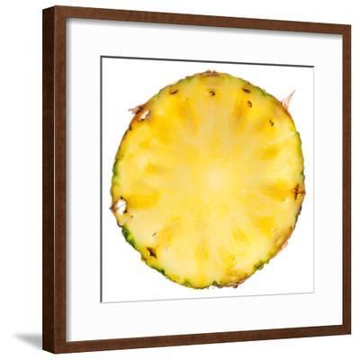 Pineapple Slice-Steve Gadomski-Framed Photographic Print
