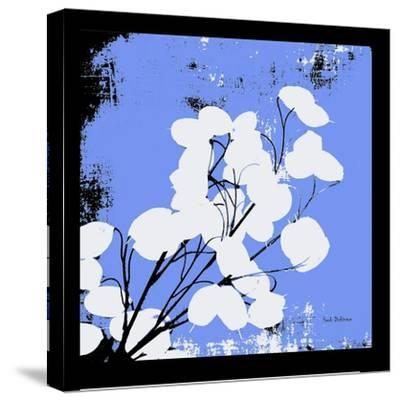French Blue Money Art-Herb Dickinson-Stretched Canvas Print
