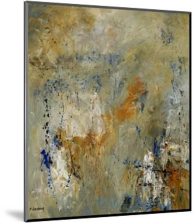 Abstract 080609-Pol Ledent-Mounted Art Print
