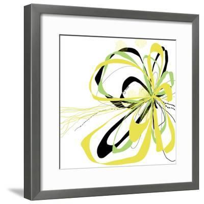 Citron Bloom 2-Jan Weiss-Framed Art Print