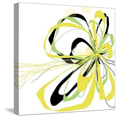 Citron Bloom 2-Jan Weiss-Stretched Canvas Print