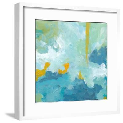 When Landscapes Dream 1-Jan Weiss-Framed Art Print