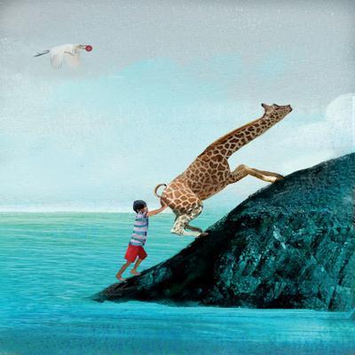 Life Can Be Tricky-Nancy Tillman-Art Print