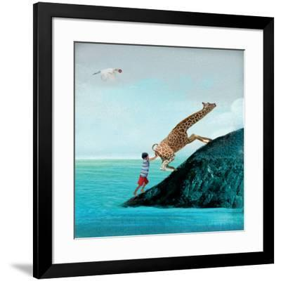Life Can Be Tricky-Nancy Tillman-Framed Art Print