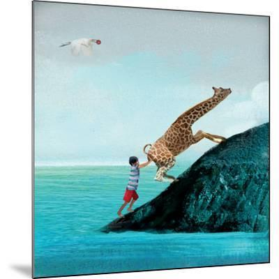 Life Can Be Tricky-Nancy Tillman-Mounted Art Print