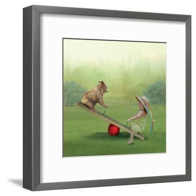See Saw-Nancy Tillman-Framed Art Print