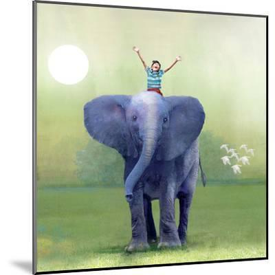 Elephant Ride-Nancy Tillman-Mounted Art Print