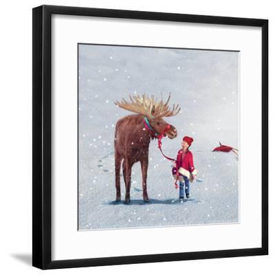 Best Friends-Nancy Tillman-Framed Premium Giclee Print