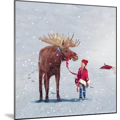 Best Friends-Nancy Tillman-Mounted Premium Giclee Print