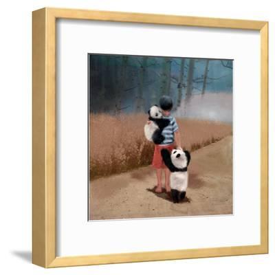Panda Friends-Nancy Tillman-Framed Art Print