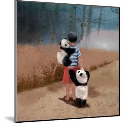 Panda Friends-Nancy Tillman-Mounted Art Print