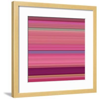 Art Wave A of 10 Bold Abstract Art-Ricki Mountain-Framed Art Print