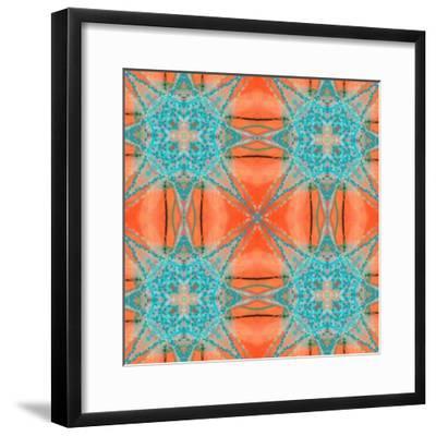 Pattern and Optics-Ricki Mountain-Framed Art Print