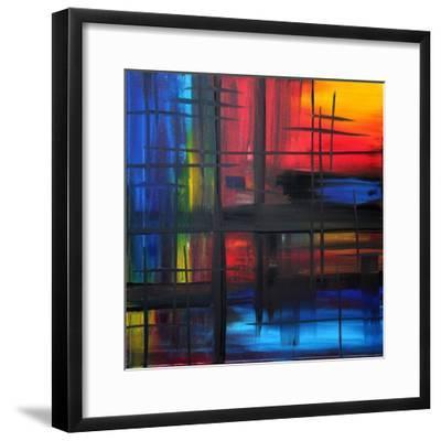 Over The Rainbow-Megan Aroon Duncanson-Framed Art Print