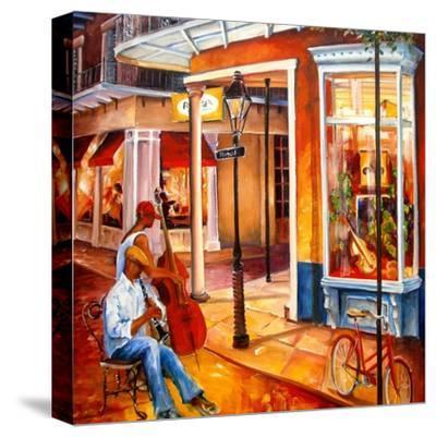 Jazz on Royal Street-Diane Millsap-Stretched Canvas Print