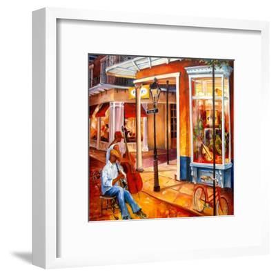 Jazz on Royal Street-Diane Millsap-Framed Art Print