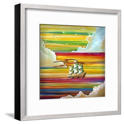 Off To Neverland-Cindy Thornton-Framed Art Print