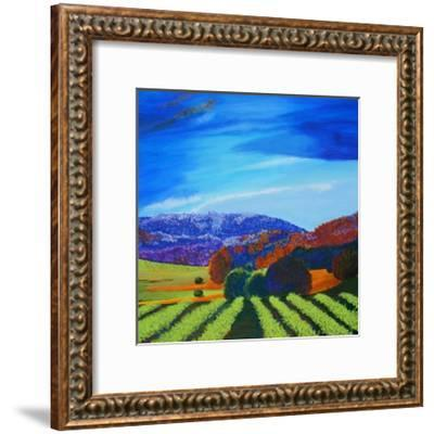 Napa Valley-Herb Dickinson-Framed Art Print